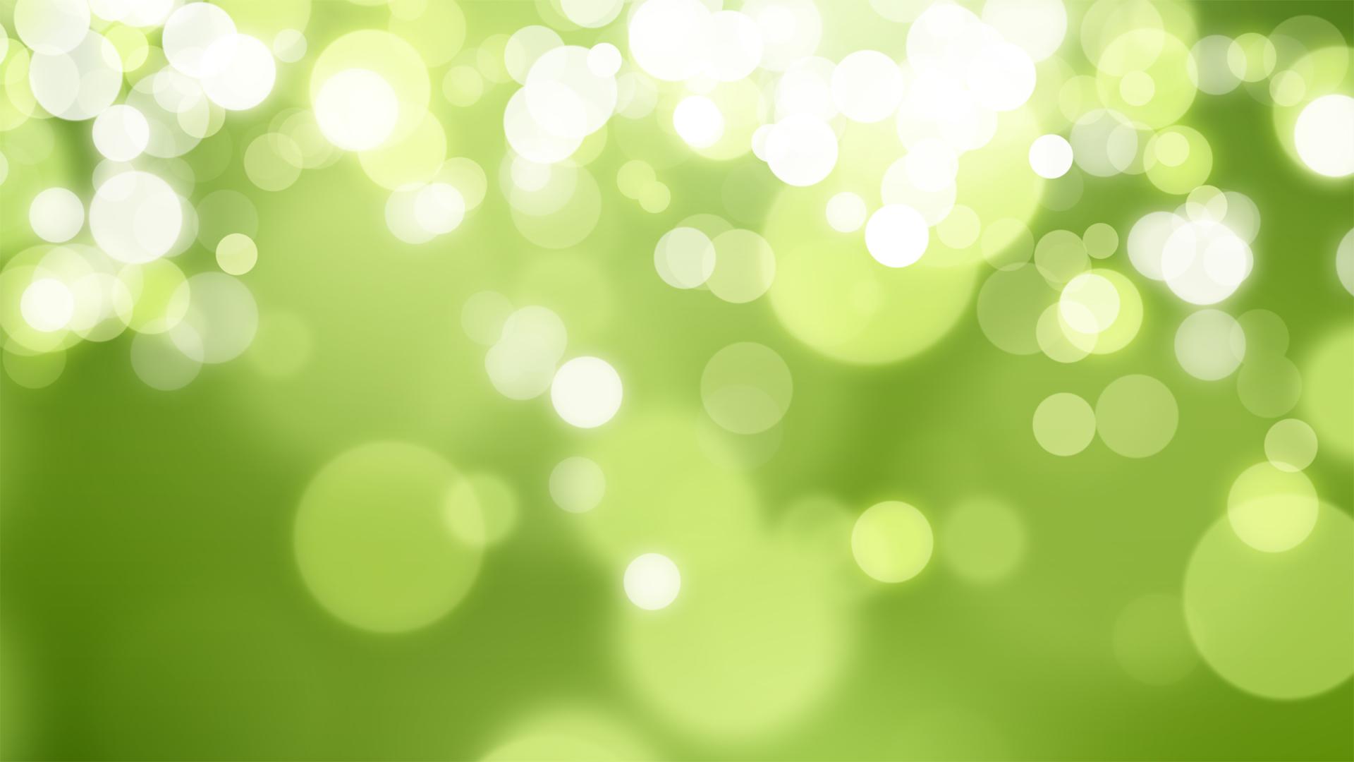 green-bokeh